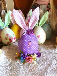 Великоднє яйце пасхальный кролик