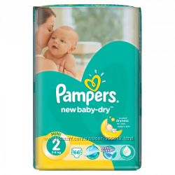 PAMPERS New Baby Mini 2 3-6 кг 66 шт
