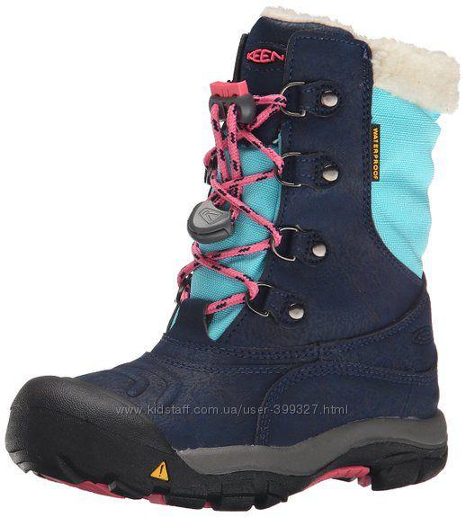 Зимние ботинки KEEN us12-18,5см. Новые