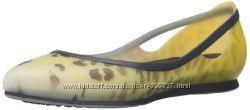 Балетки crocs Rio Leopard р. W10-27см. Оригинал
