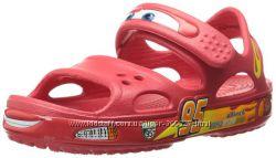 Сандалии crocs Crocband Cars р. С4-12. 5cм. Оригинал