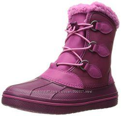 Зимние ботинки crocs р. J6- 25, 5см. Оригинал