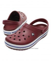 Кроксы Crocs Crocband р. м9 и м10. Оригинал