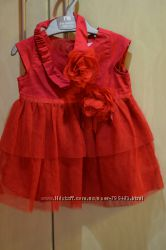 Нарядное платье CHILDRENS PLACE для малышки 9-12 мес