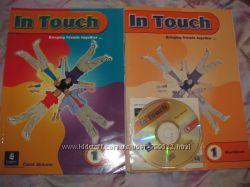 Английский In Touch students book, workbook - 1 уровень и диск