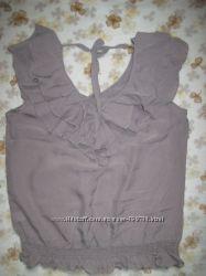 Восхитительная шелковая блуза Warehouse р. 48-50