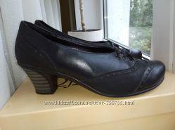 Кожаные туфли р. 37 стелька 23 см Состояние идеальное