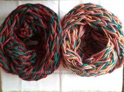 Бесподобные шарфы-хомуты в два оборота