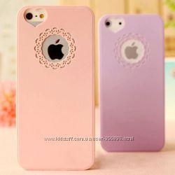 Чехол для iphone 4 розовый