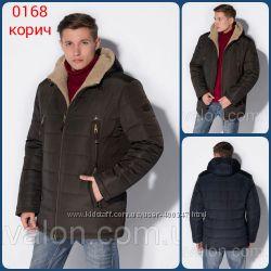 Куртка мужская зимняя, ТМ Vavalon, арт. 168 корич