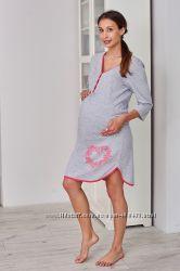 Ночная рубашка для будущих мам отличного качества. Польша.