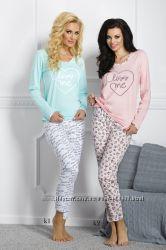 Пижама для женщин из 100 хлопка Таро. Польша Осенне-зимняя коллекция 2016