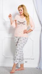 Пижама для женщин из 100 хлопка Таро. Польша Осенне-зимняя коллекция 2017
