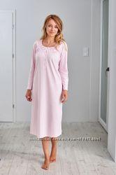 Длинная ночная рубашка для женщин из 100 хлопка. Производитель Regina