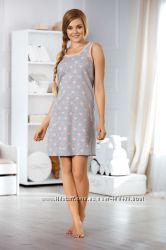 Ночная рубашка, домашнее платье из 100 хлопка. Производитель Польша.