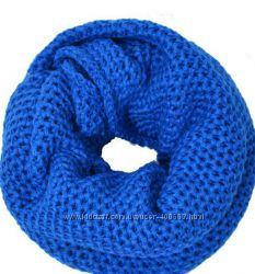 Теплые и стильные шарфы-снуды