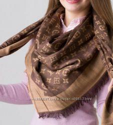 Брендовые натуральные платки Louis Vuitton