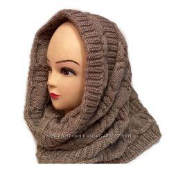 Тёплый шарф-труба, снуд