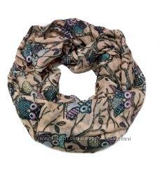 Легкие шарфы-снуды весналето