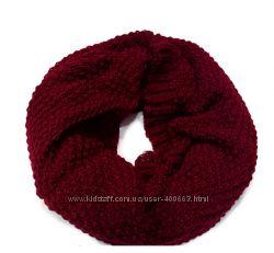 Яркие шарфы-хомуты