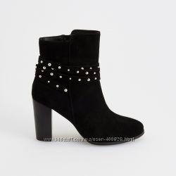 замшевые ботинки reserved
