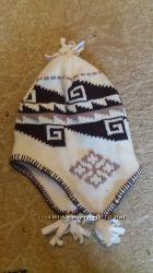 Продается шапка зимняя 8-11 лет окружность 46 см