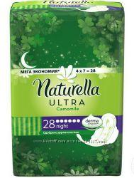 Naturella прокладки ночные ультратонкие, 28 шт.
