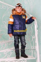 Зимняя куртка для мальчика Бруклин р. 128-158