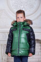 Зимняя куртка для мальчика Сэм р. 128-152