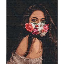Картина по номерам 40х50 см натуральный холст Идейка в ассортименте