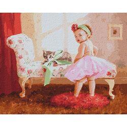 Картина по номерам для взрослых Идейка 40х50 см с акриловыми красками