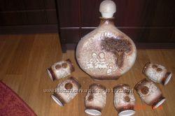 Керамическая посуда винный набор