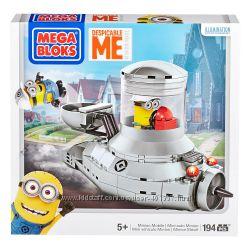 Despicable Me Minion Mobile. Mega Bloks Minions. Посипакомобиль