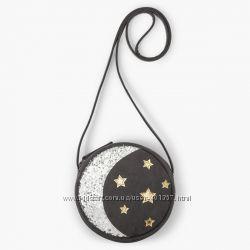 Gymboree. Круглая сумочка луна звезды