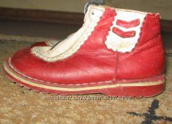 Демисезонные ботинки Ortopedia 16 см по стельке