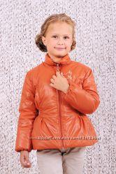 Куртка демисезонная для девочки Горчица, терракот 03-00458