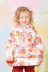 Куртка демисезонная для девочки Цветы  03-00567-1