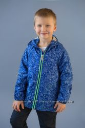 Куртка, ветровка морская для мальчика синий 03-00634-0