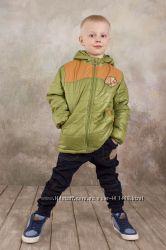Куртка для мальчика демисезонная Спорт зеленый 03-00565-1