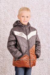 Куртка демисезонная для мальчика коричневый 03-00456-1
