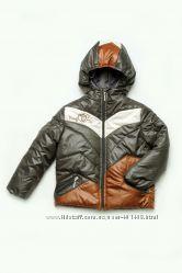 Куртка демисезонная для мальчика хаки 03-00456-0