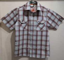 Брендовые летние рубашки на 9-10 л. в отл. состоянии