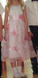 Нарядное платье на 5-6 лет . рост 116 см