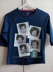 Реглан One Direction для девочки 7-8 лет рост 122-128см