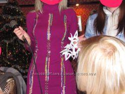 Нарядное платье Yuka, французский трикотаж