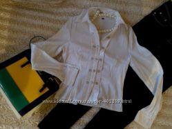 Белая блузка, 44  размер. С
