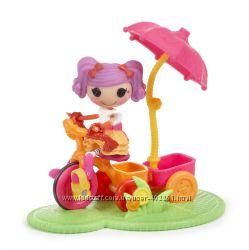 Мини Лалалупси на велосипеде