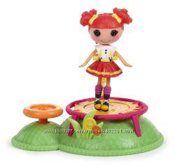 Куколка Mini Lalaloopsy  на батуте