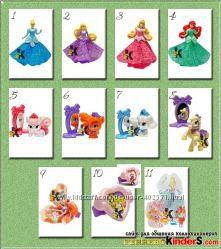 Киндер Кунг-Фу Панда 3, Angry Birds, Принцессы Disney Barbie Маша и медведь