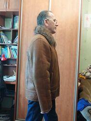 Дублянка дубленка натуральная воротнік єнот